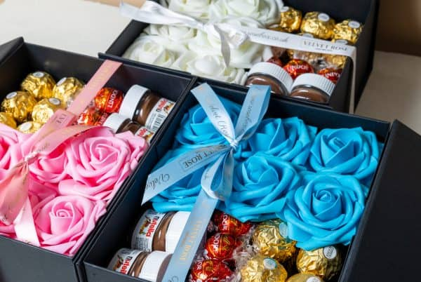 Roses And Chocolate Box