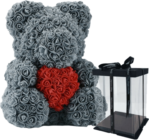 luxury rose bear