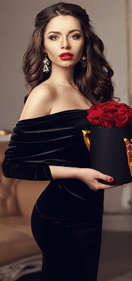 luxury rose boxes banner