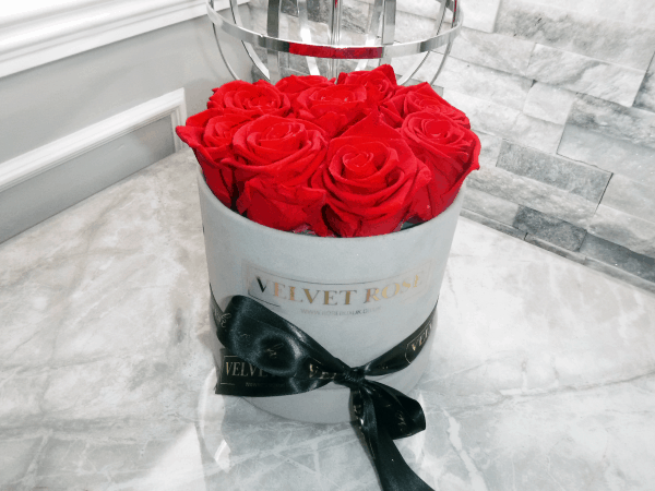 REAL ETERNITY PRESERVED ROSES BOX